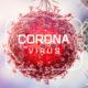 Corona virus. Virus cells or bacteria molecule. Flu, view of a virus under a microscope, infectious disease